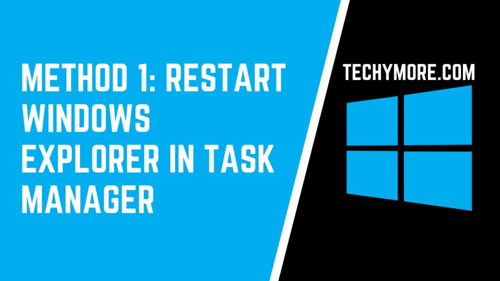 File Explorer Not Responding Windows 10