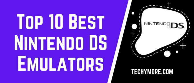 Top 10 Best Nintendo DS Emulators