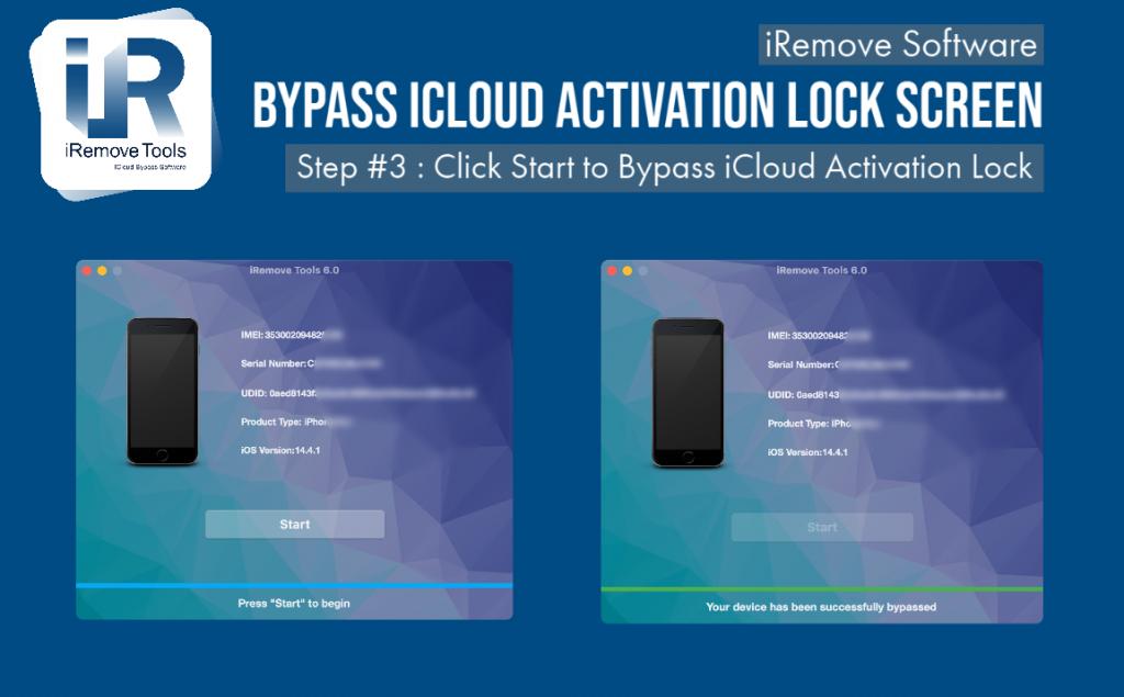 iCloud Activation Lock Screen bypass